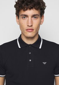 Emporio Armani - Polo shirt - dark blue - 3
