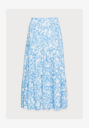 SKIRT DION - Maxi skirt - light white