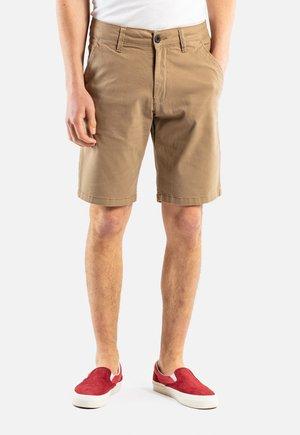 FLEX GRIP CHINO SHORT - Shorts - dark sand