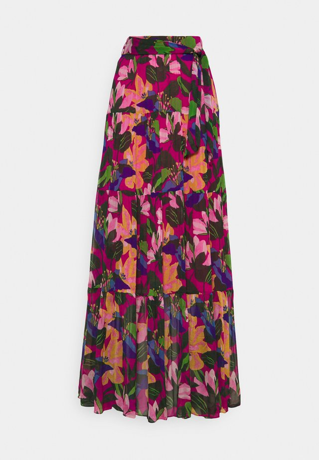 LILLIAN - Jupe longue - multicolor
