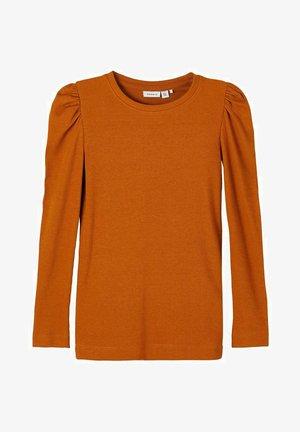 Langærmede T-shirts - glazed ginger