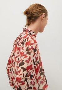 Mango - FLORALIS - Button-down blouse - ecru - 4