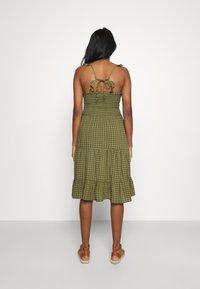 ONLY - ONLPELLEA LIFE STRAP DRESS - Day dress - capulet olive - 2