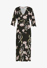 Maxi dress - black / rose
