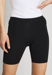 Who What Wear - THE BIKER - Shorts - black - 4