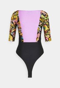 Versace Jeans Couture - LADY BUSTIER - T-shirt imprimé - black - 1