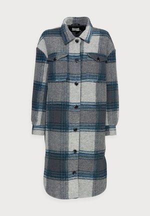 HELENA JACKET - Classic coat - grey/blue