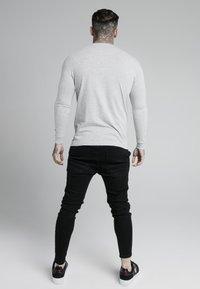 SIKSILK - LONG SLEEVE GYM TEE - Långärmad tröja - grey marl - 2