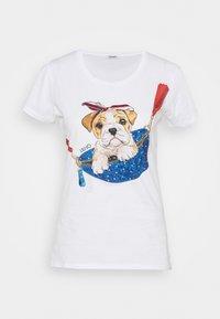 Liu Jo Jeans - Print T-shirt - white - 4