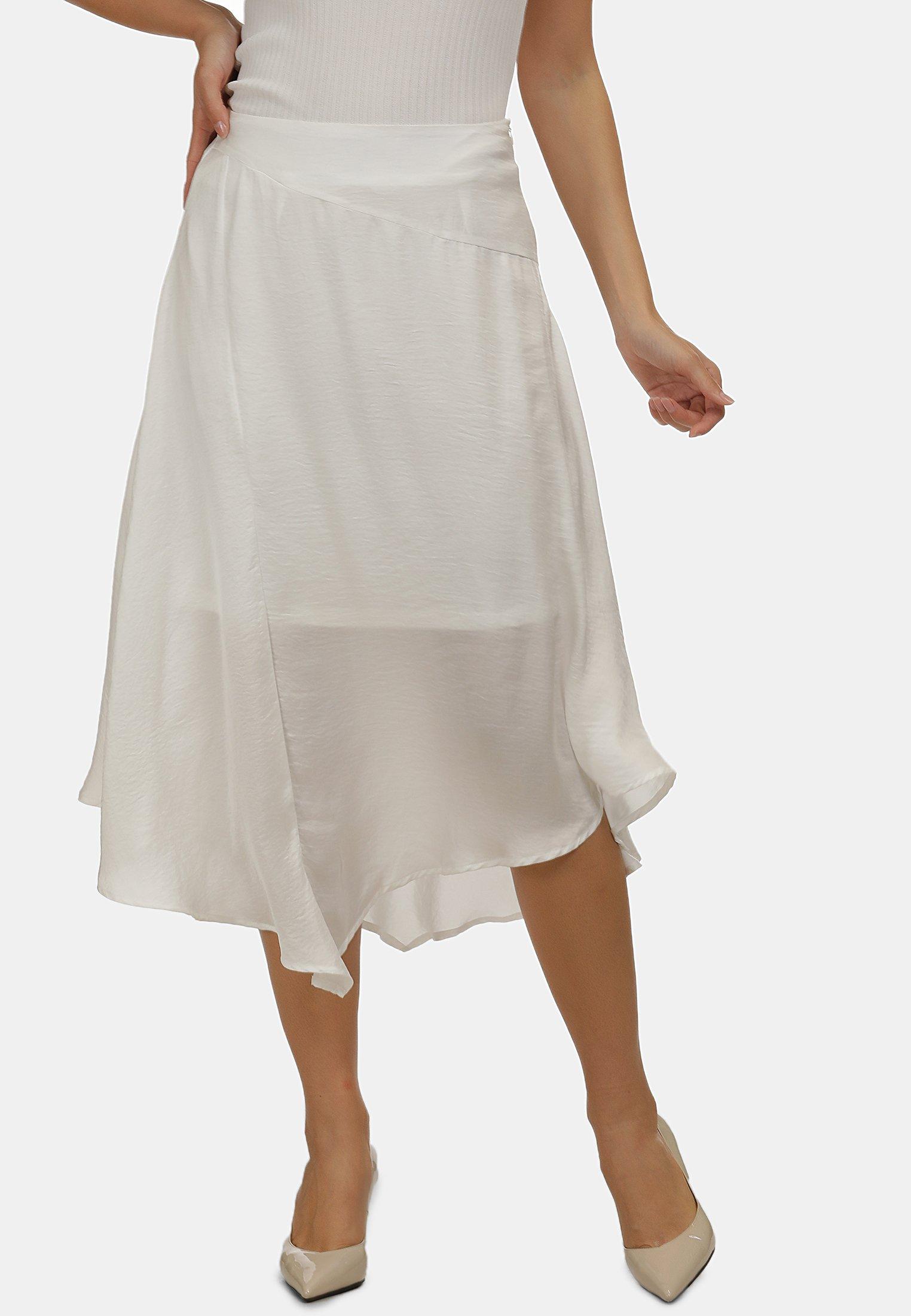 Shop Women's Clothing usha A-line skirt weiss IY4fcrqL0