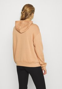Even&Odd - BASIC - Oversized hoodie with pocket - Hoodie - light tan - 2
