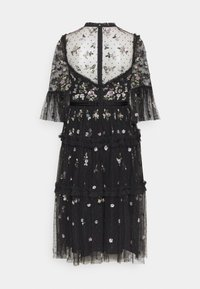Needle & Thread - SHIMMER DITSY LONG SLEEVE DRESS - Cocktailklänning - graphite - 1