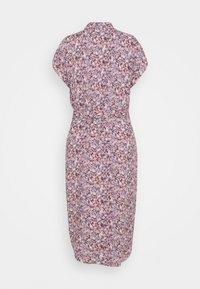 PIECES Tall - PCNYA SHIRT DRESS - Shirt dress - sky captain - 1