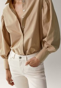 Massimo Dutti - Jeans Skinny Fit - white - 4