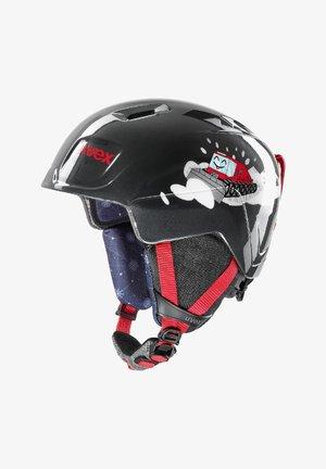Helmet - black caterpillar