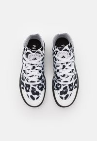adidas by Stella McCartney - ASMC TREINO MID PRINTED - Sportovní boty - footwear white/core black/cloud white - 3