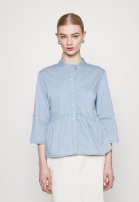 ONLY - ONLCHICAGO  - Blouse - light blue denim - 0