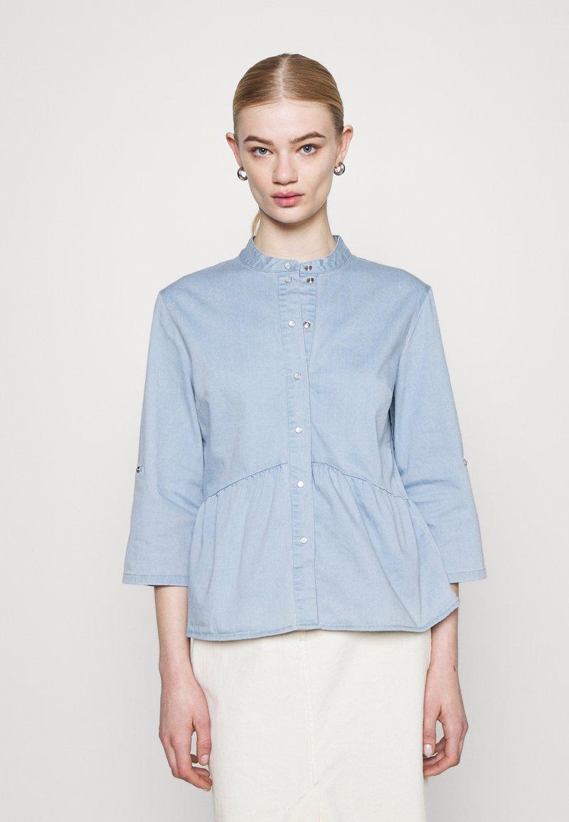 ONLY - ONLCHICAGO  - Blouse - light blue denim