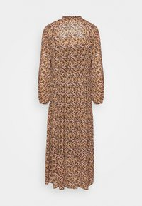 Moss Copenhagen - MARTHA RIKKELIE DRESS - Maxi dress - black - 1