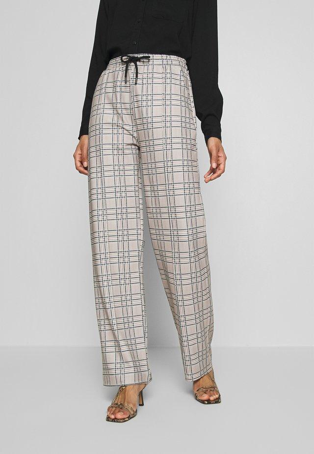 CHECK IT PANTS - Pantalon classique - tan