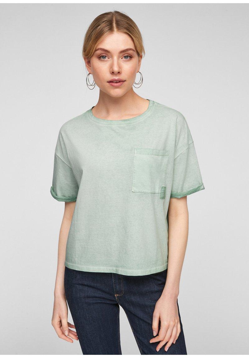Q/S designed by - Basic T-shirt - mint