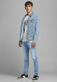 Jack & Jones - SLIM FIT GLENN ORIGINAL - Slim fit jeans - blue denim - 1