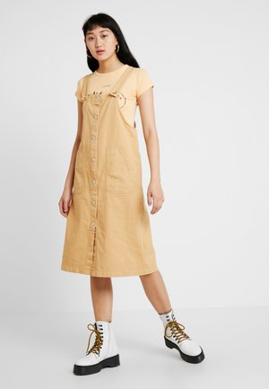 MINGU DRESS - Denim dress - beige