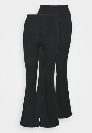 FLARE 2 PACK - Legging - black