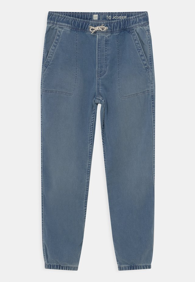 BOY SOFT  - Relaxed fit jeans - light wash indigo