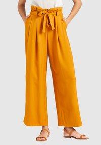 khujo - EIVOLA - Trousers - yellow - 0