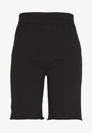 LONGLINE - Tracksuit bottoms - black