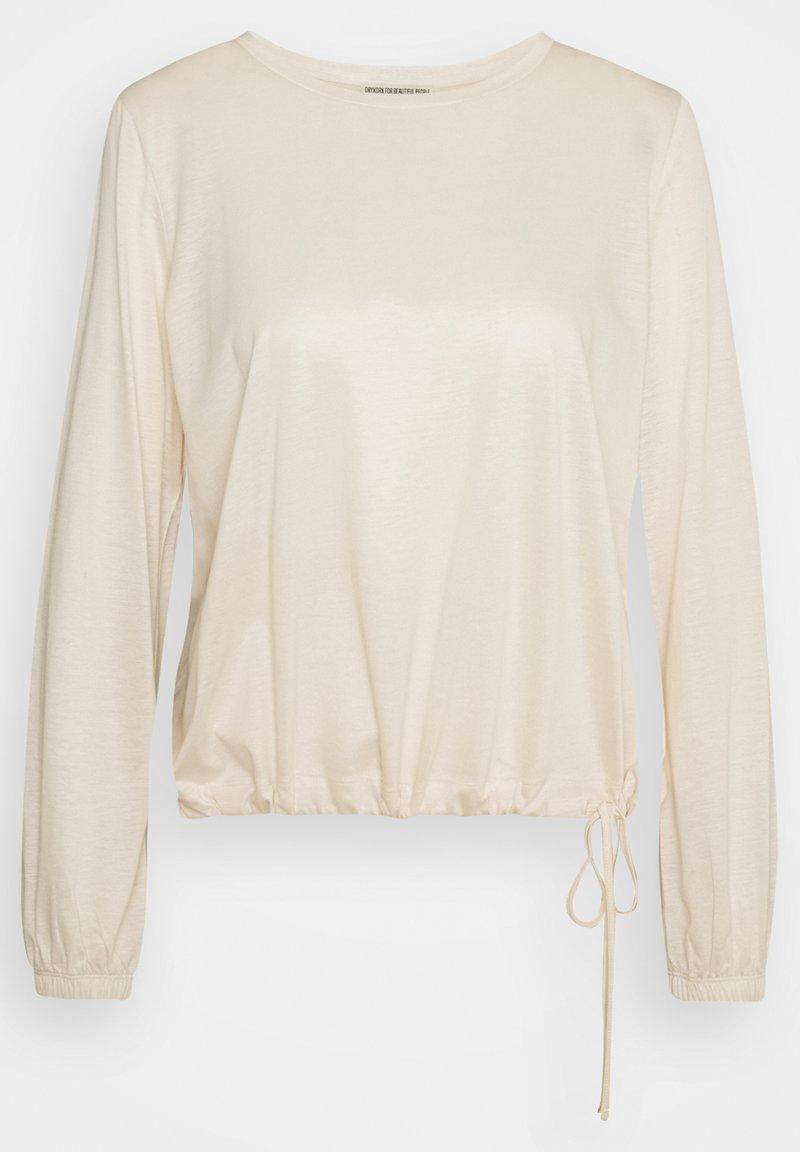 DRYKORN - Long sleeved top - creme