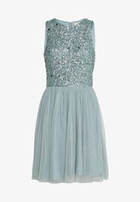 Lace & Beads - PICASSO SKATER - Cocktail dress / Party dress - teal - 0