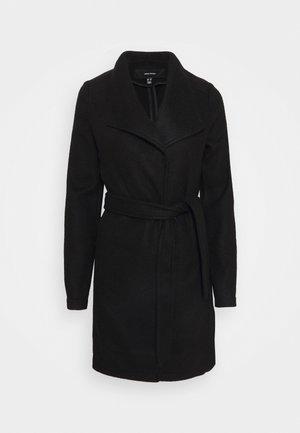 VMBRUSHEDDORA - Classic coat - black