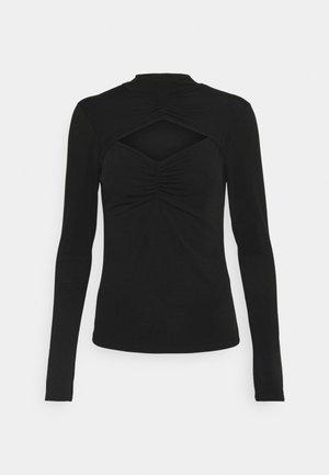 CLARA CUT OUT JUMPER - Long sleeved top - black