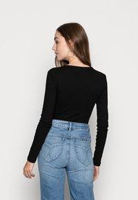 Even&Odd - BODYSUIT BASIC - Långärmad tröja - black - 2