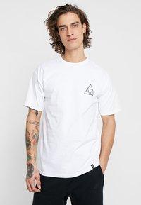 HUF - CITY ROSE TEE - Print T-shirt - white - 2