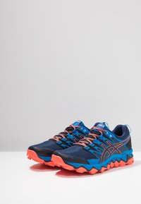 ASICS - GEL-FUJITRABUCO 7 - Chaussures de running - blue expanse/electric blue - 2