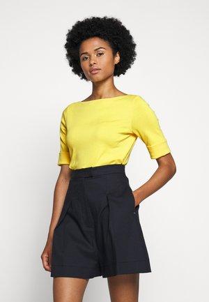 Print T-shirt - hampton yellow