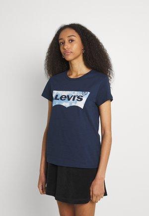 THE PERFECT TEE - T-shirt z nadrukiem - dark blue