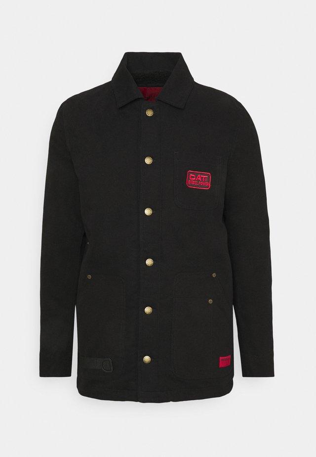 LONGLINE WORKWEAR JACKET - Summer jacket - black