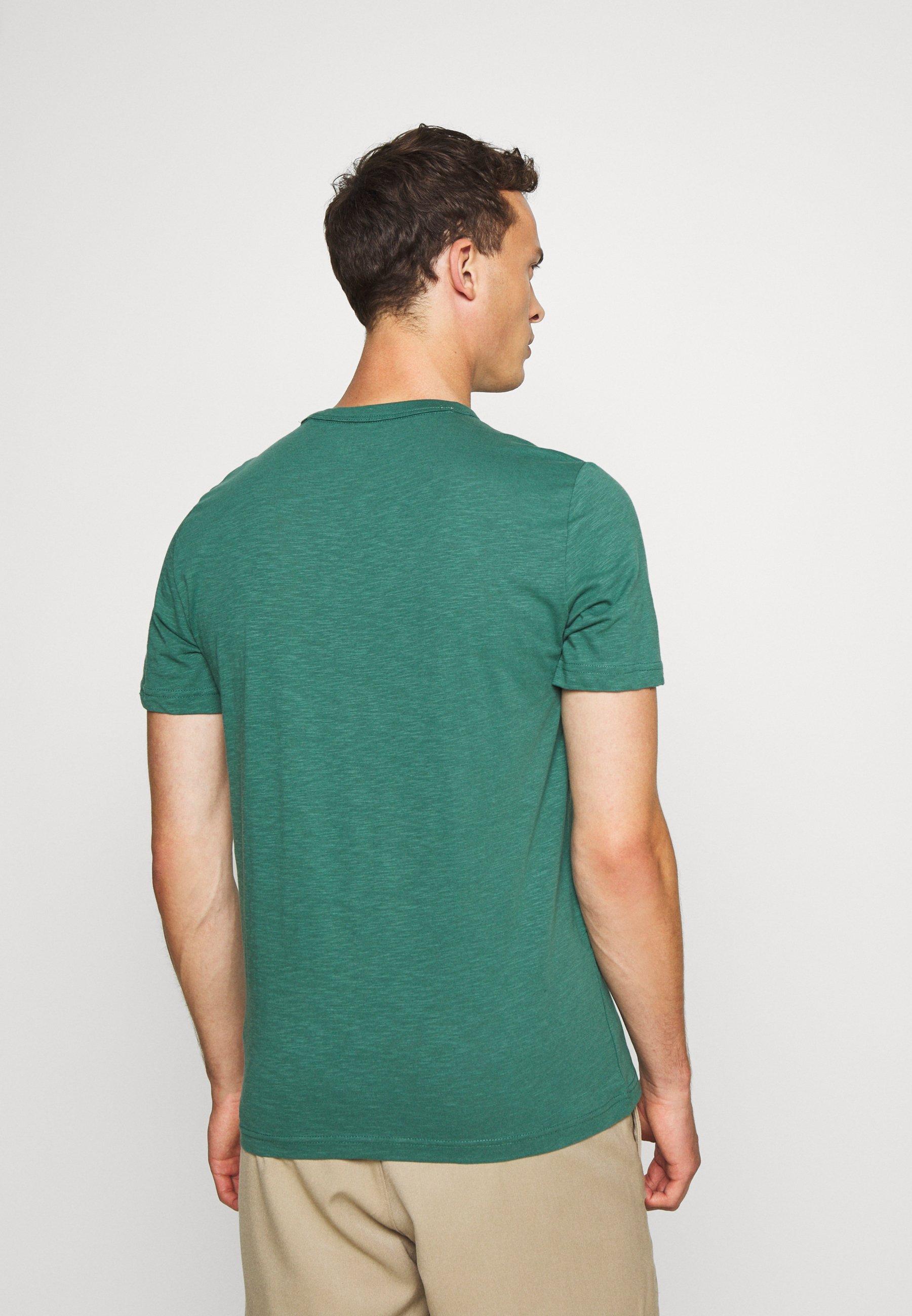 Mustang ALEX - Print T-shirt - mallard green Xvw4D