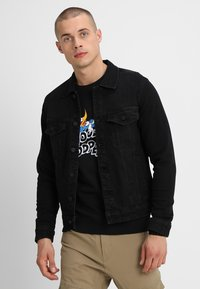 Only & Sons - ONSCOIN - Denim jacket - black denim - 0