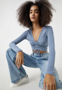 PULL&BEAR - Blouse - dark blue - 3