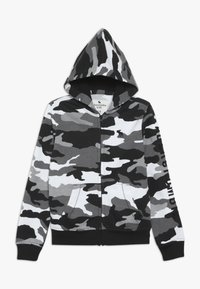 Abercrombie & Fitch - CORE  - Zip-up hoodie - black /white - 0