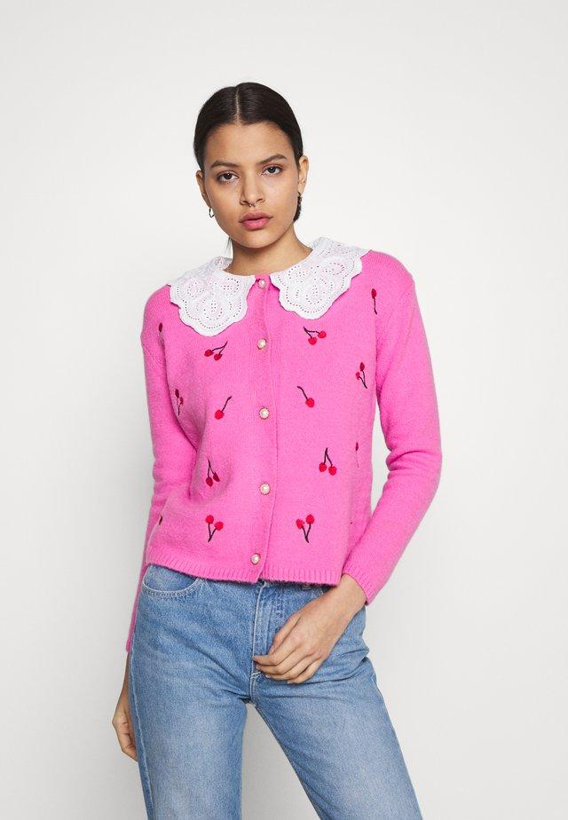 CHERRIE - Cardigan - pink