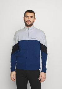 Champion - FULL ZIP SUIT - Tracksuit - blue/white - 0