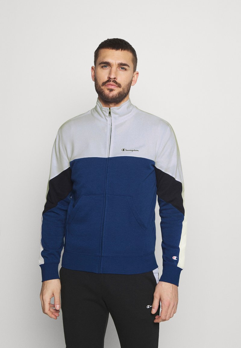 Champion - FULL ZIP SUIT - Dres - blue/white