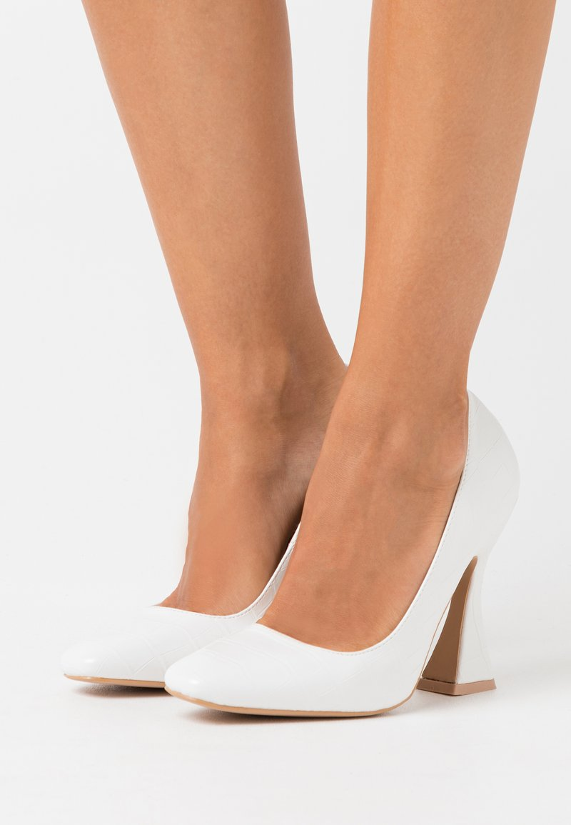 Missguided - FEATURE SHOE - High heels - white