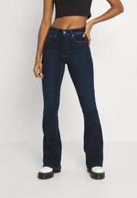 G-Star - FLARE - Flared Jeans - worn in ultramarine - 0